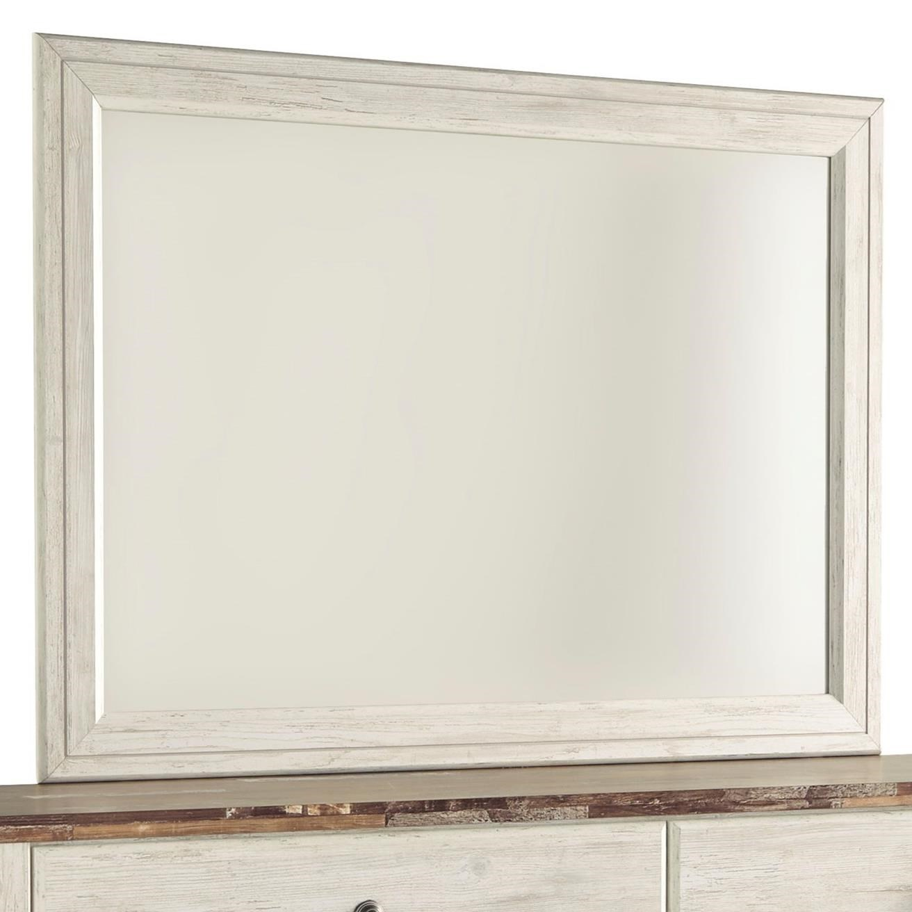 Willowton Bedroom Mirror by Signature Design by Ashley at Beck's Furniture
