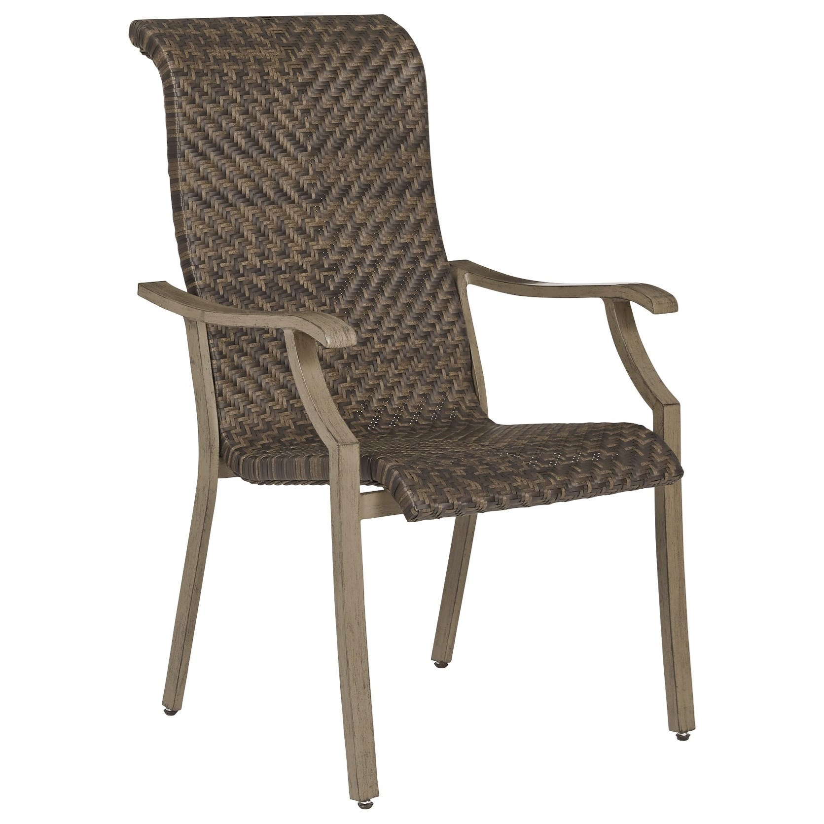 Windon Barn Set of 4 Arm Chairs by Signature at Walker's Furniture