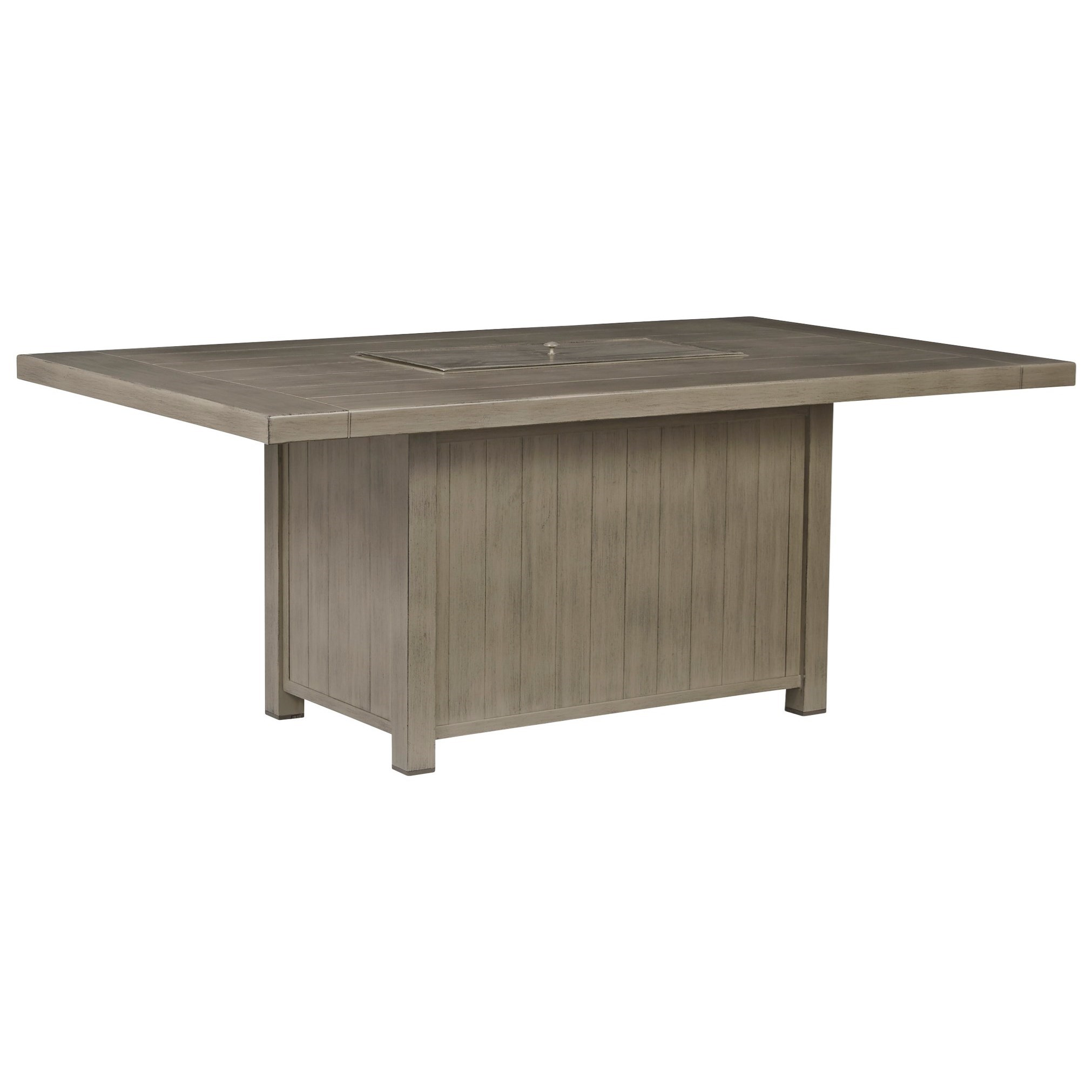 Windon Barn Rectangular Fire Pit Table by Signature at Walker's Furniture