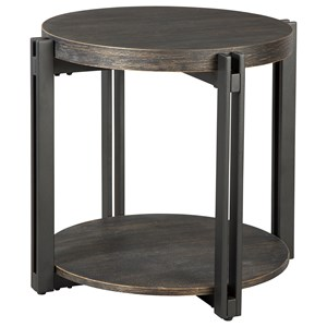 Signature Design by Ashley Winnieconi Round End Table