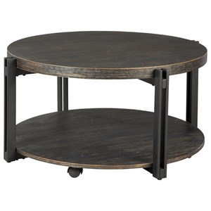 Signature Design by Ashley Winnieconi Round Cocktail Table