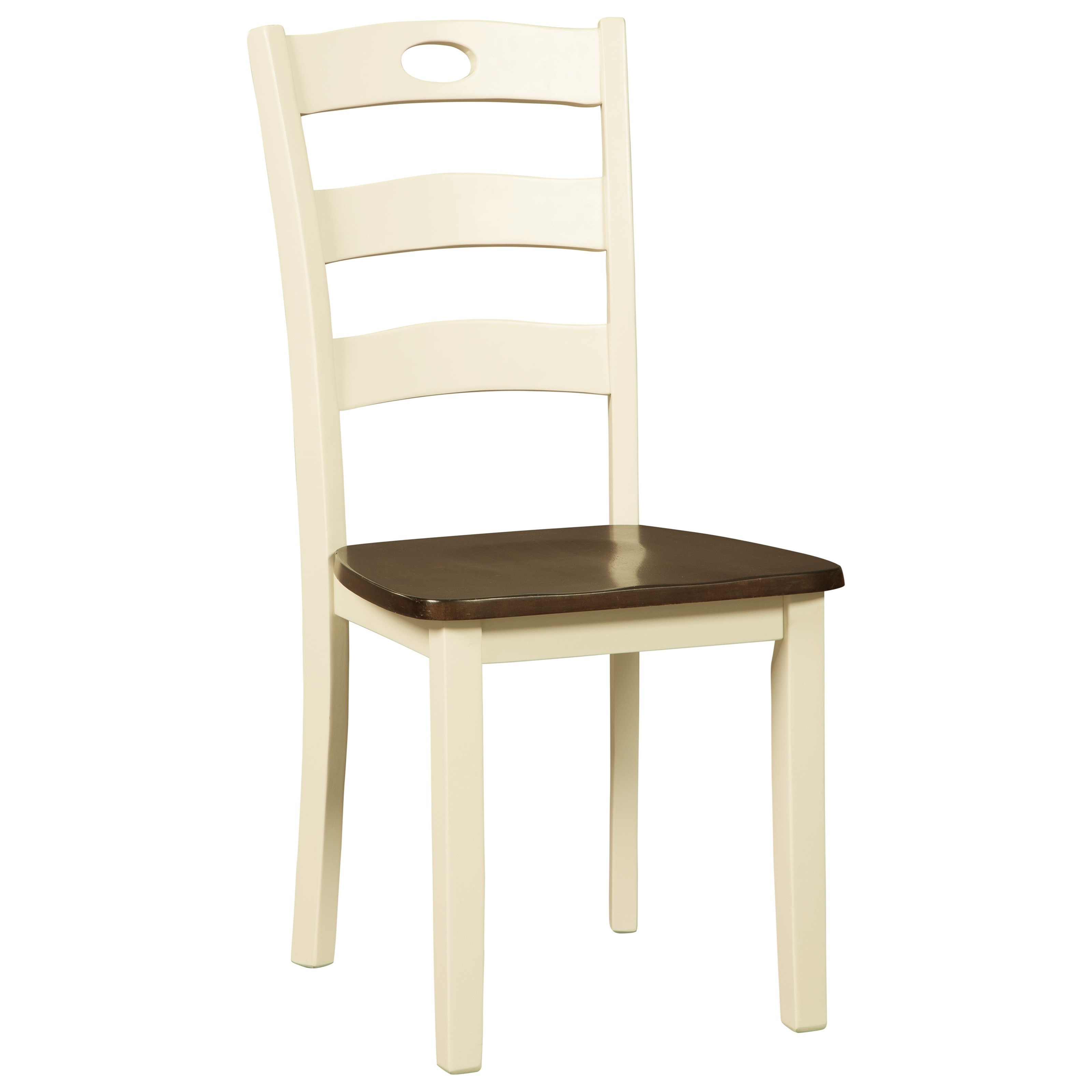 Woodanville Dining Room Side Chair by Signature Design by Ashley at HomeWorld Furniture