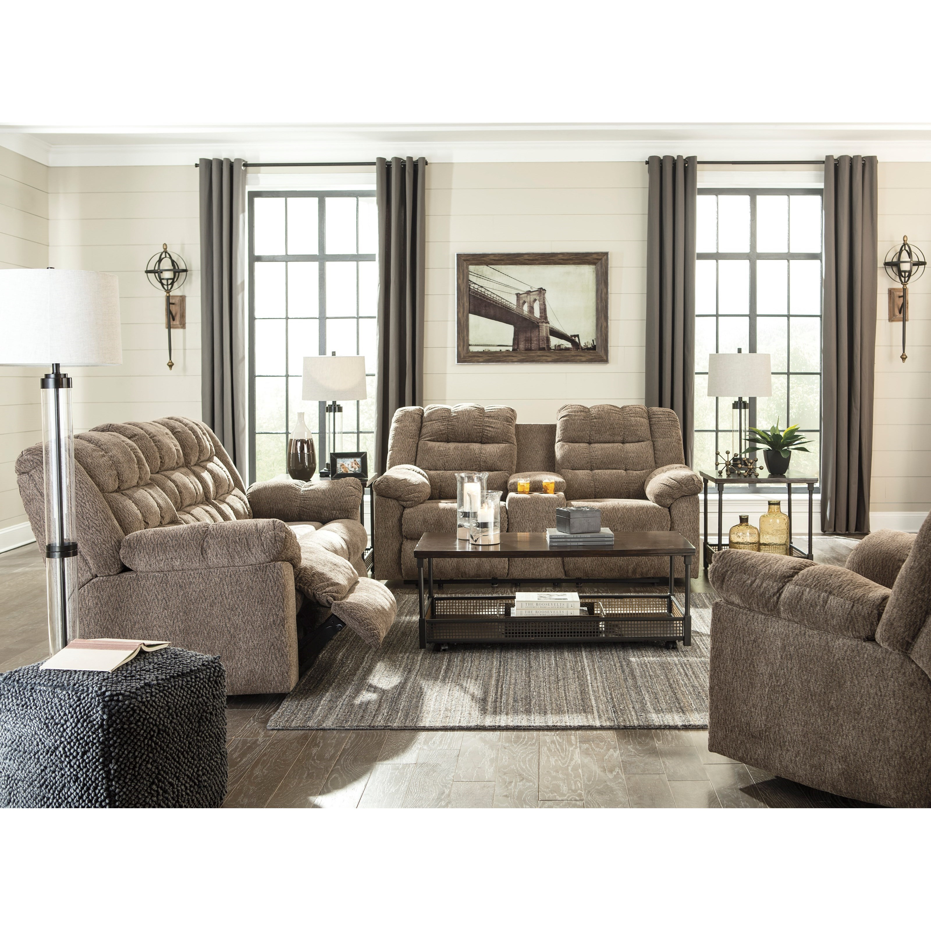 Workhorse Reclining Living Room Group by Signature Design by Ashley at Northeast Factory Direct