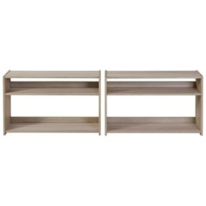 Set of 2 Under Bed Bookcases