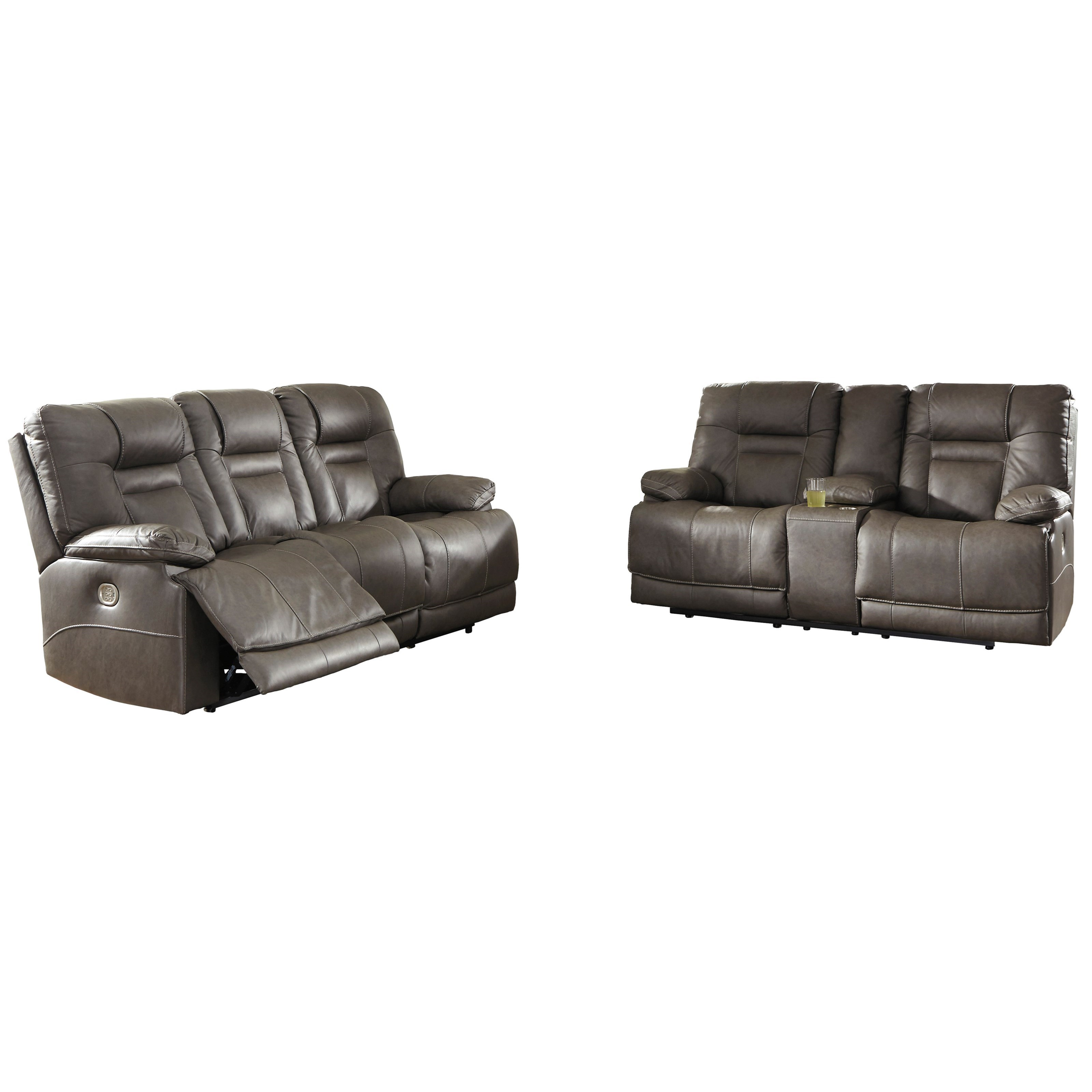 Wurstrow Reclining Living Room Group by Signature Design by Ashley at Northeast Factory Direct