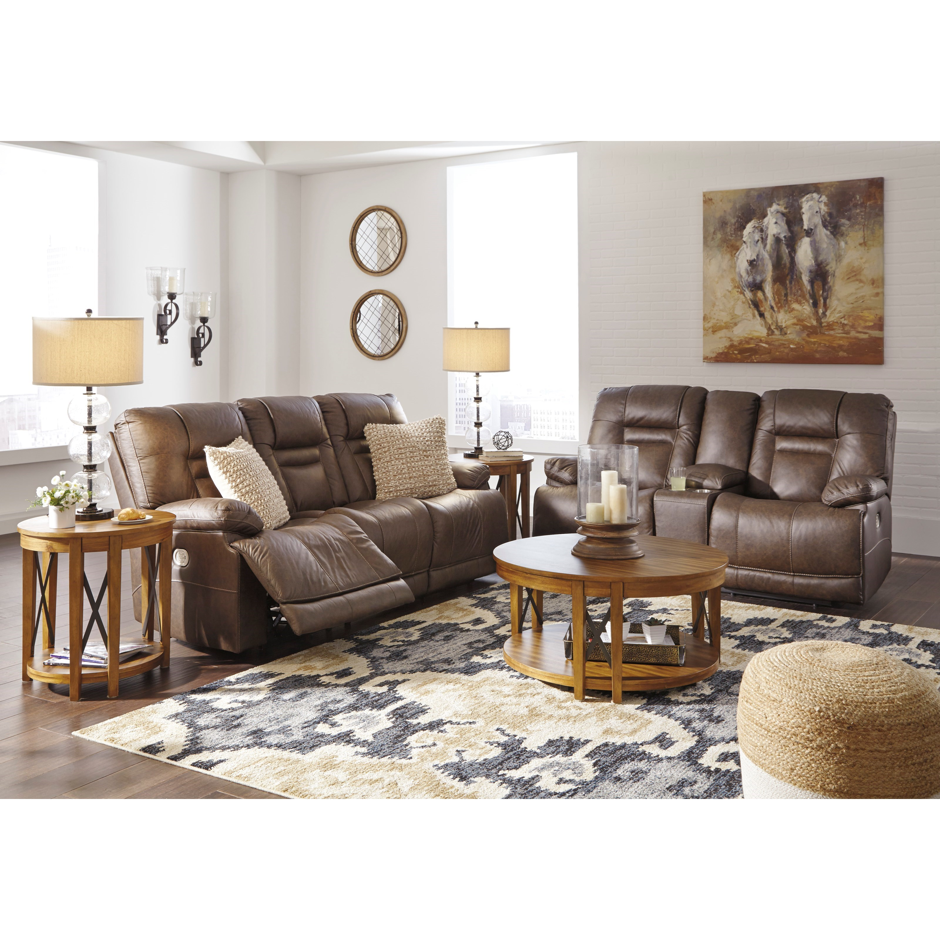 Wurstrow Reclining Living Room Group by Signature Design by Ashley at Factory Direct Furniture