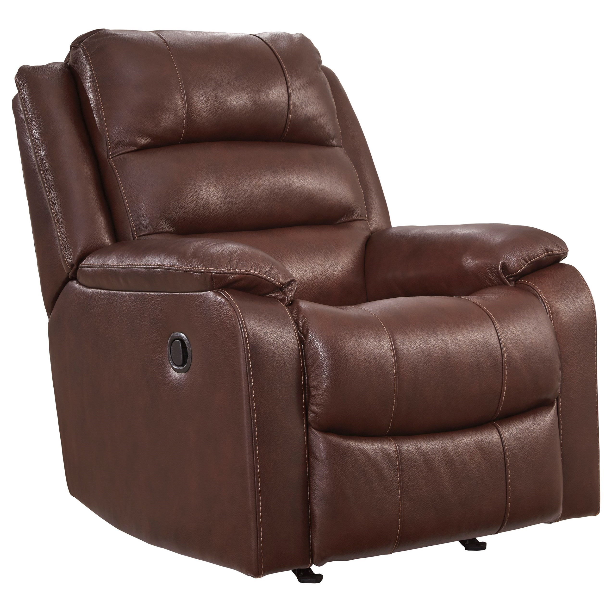 Wylesburg Rocker Recliner by Ashley (Signature Design) at Johnny Janosik