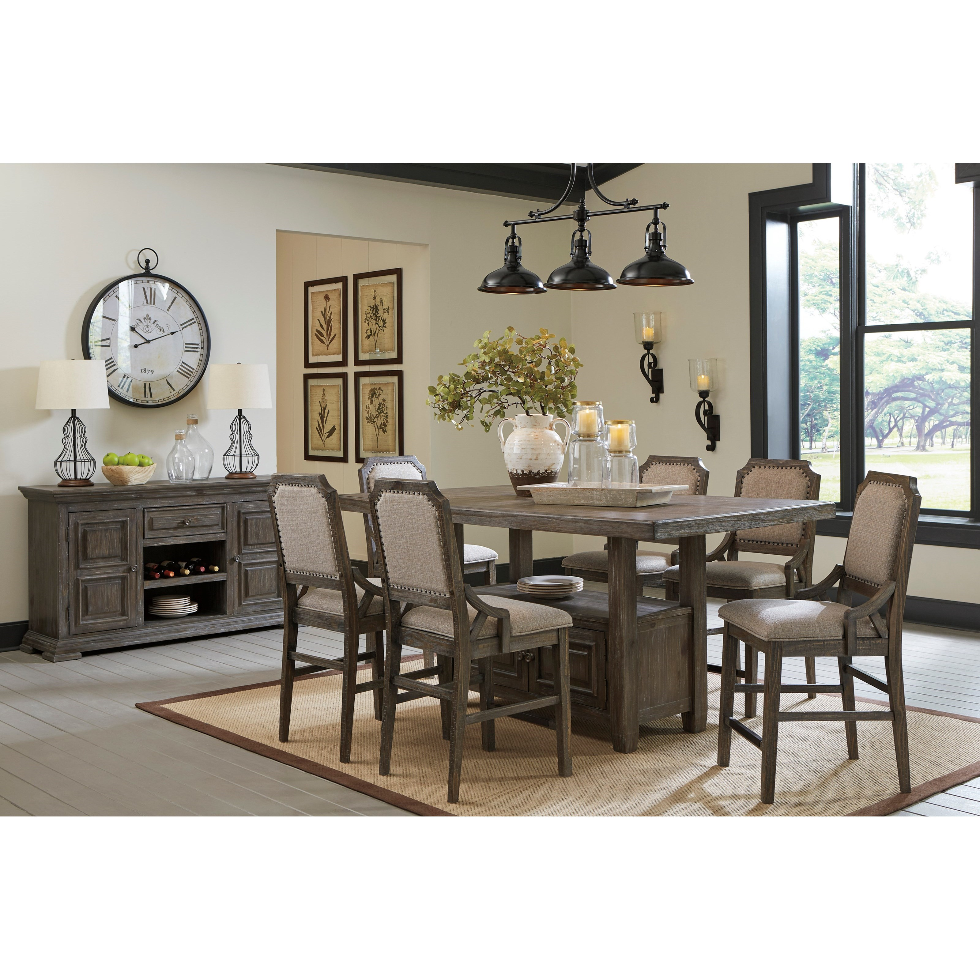 Wyndahl Dining Room Group by Signature Design by Ashley at Northeast Factory Direct