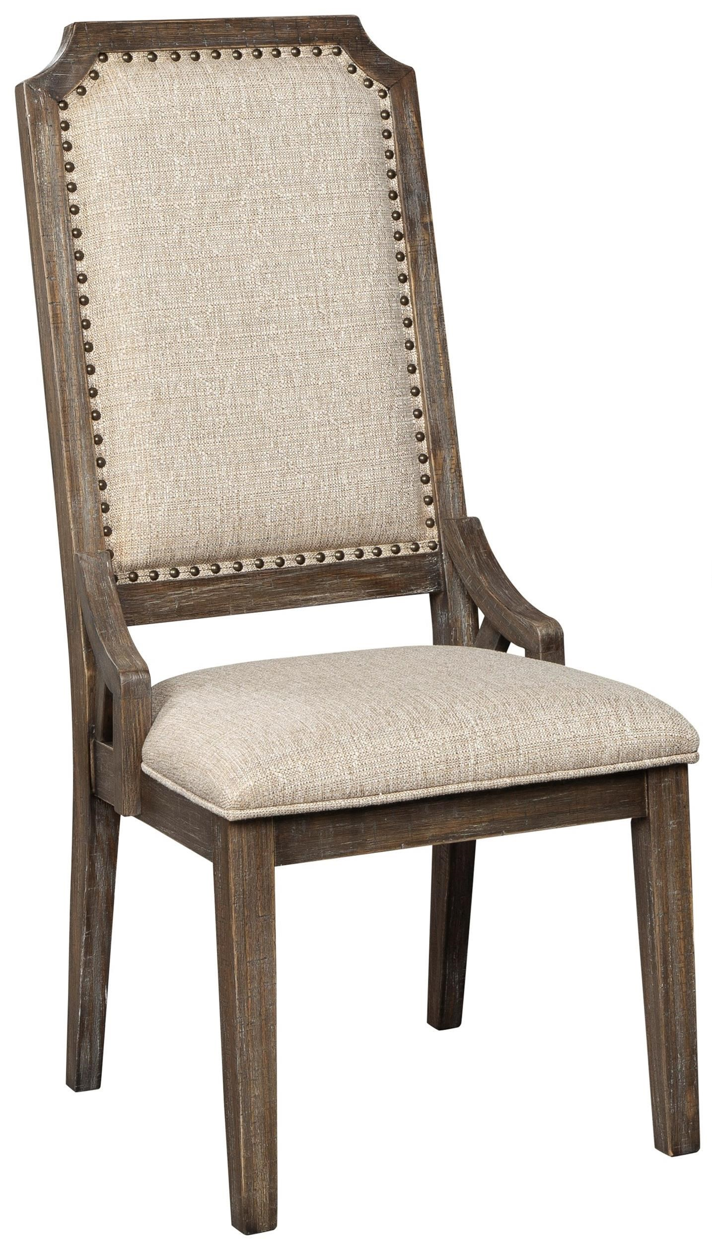 Wyndahl Dining Upholstered Side Chair by Signature Design by Ashley at Beck's Furniture
