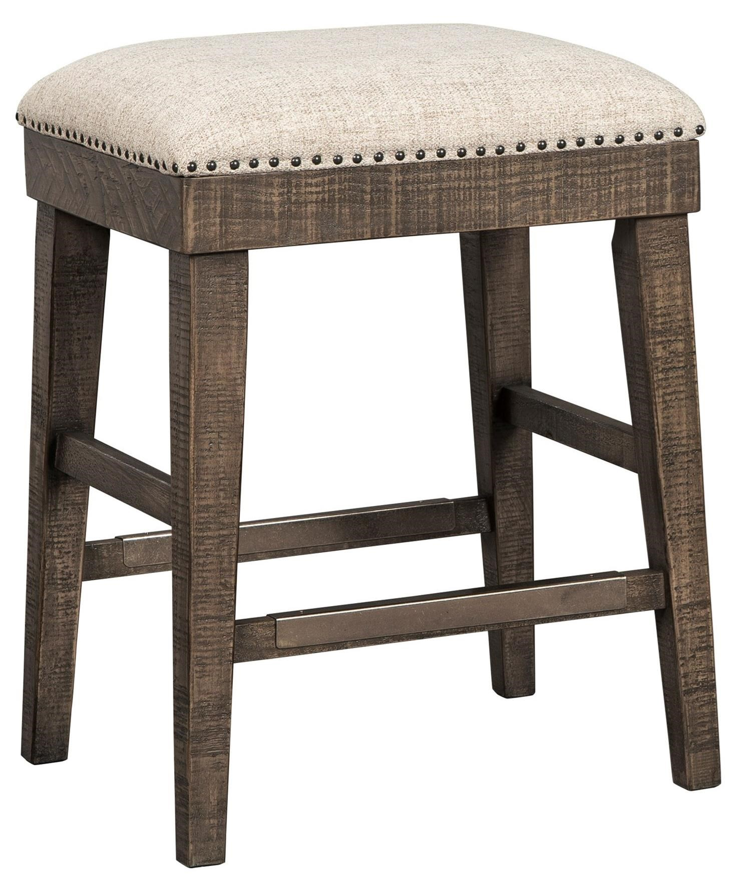 Wyndahl Upholstered Stool by Signature Design by Ashley at Beck's Furniture