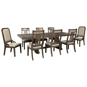 9-Piece Dining Table Set