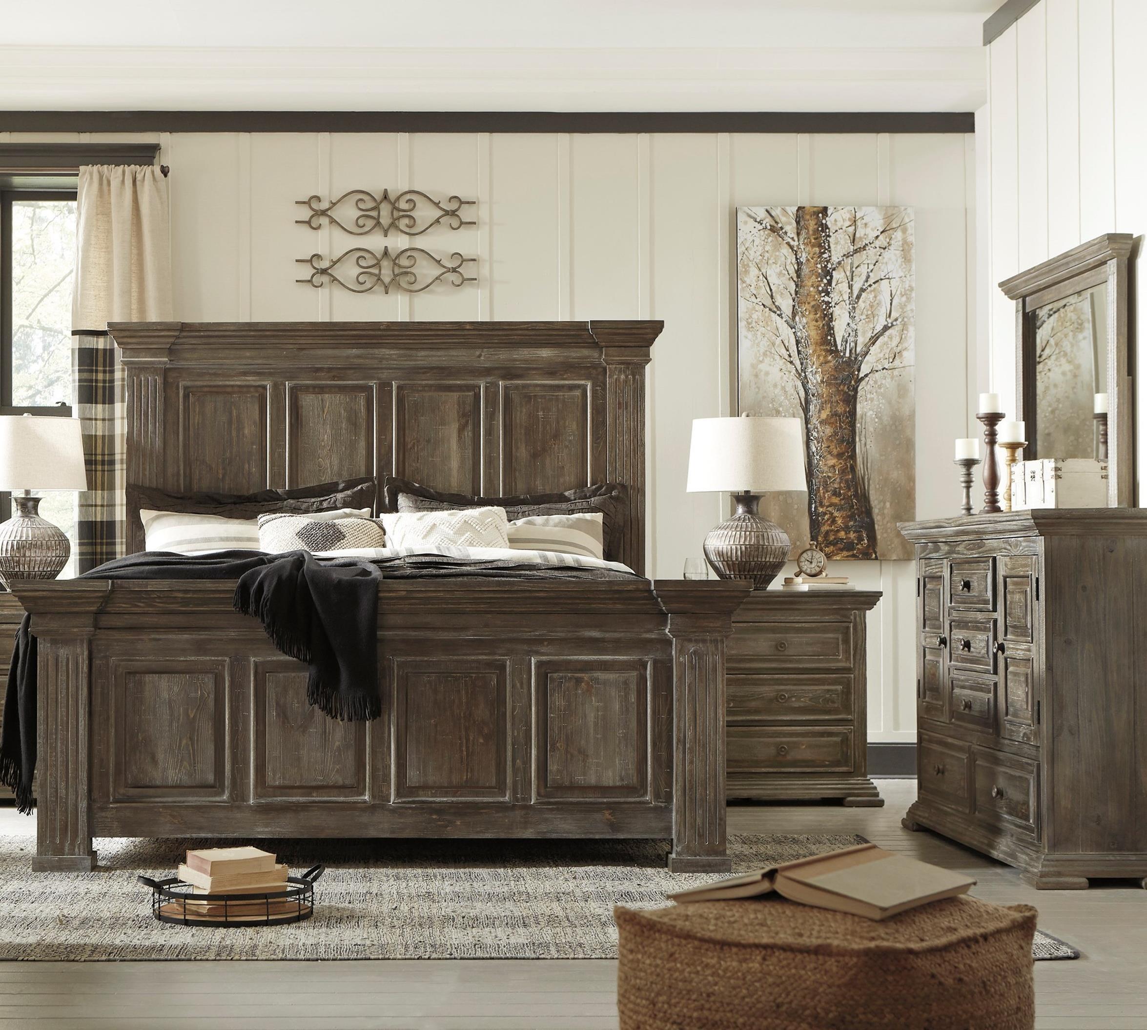 Wyndahl King Bedroom Group by Ashley (Signature Design) at Johnny Janosik