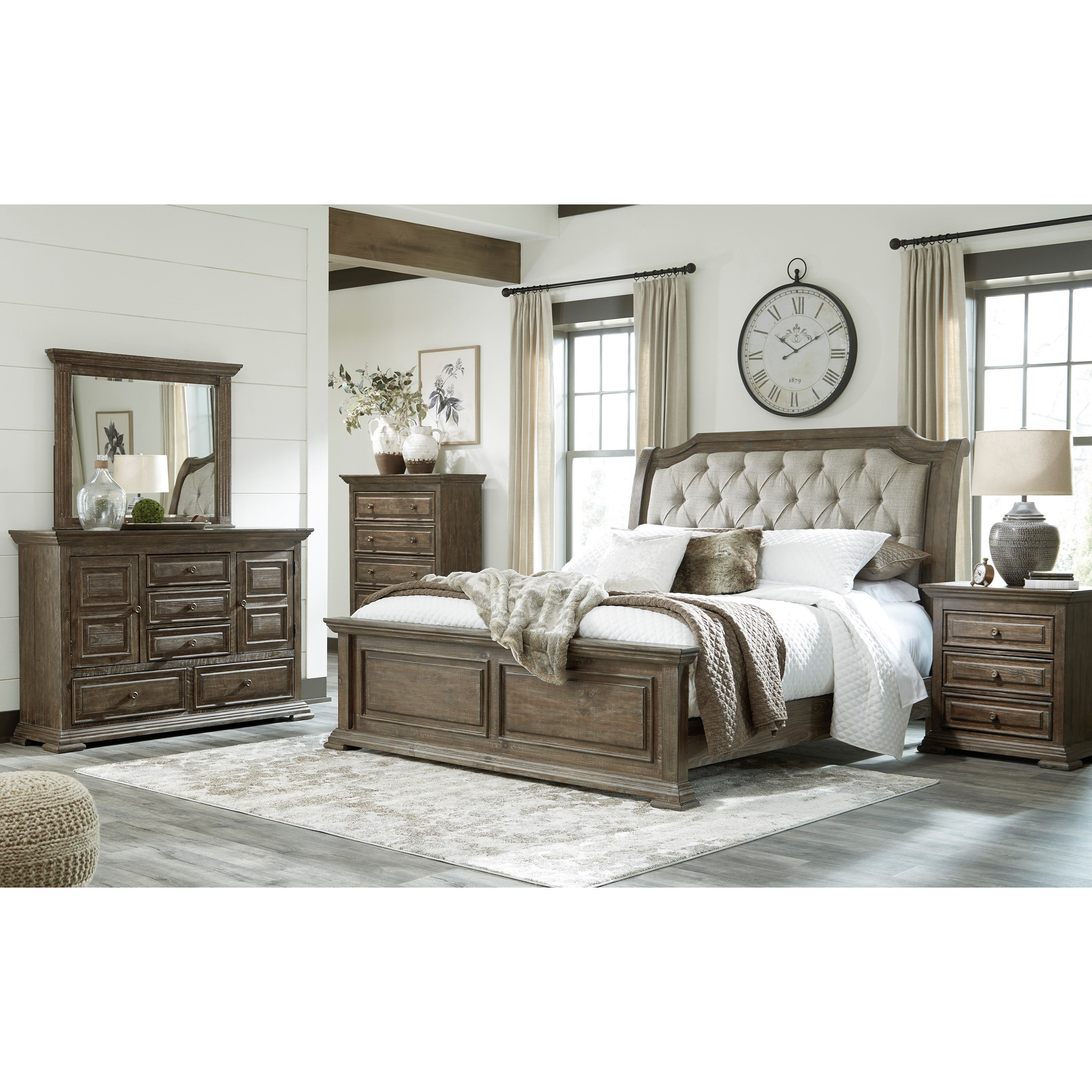 Wyndahl California King Bedroom Group by Signature Design by Ashley at Furniture Barn