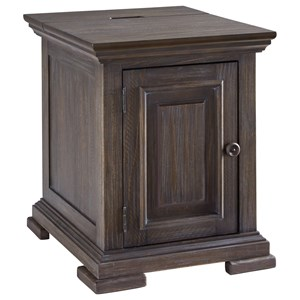 Lodge-Style Chairside End Table