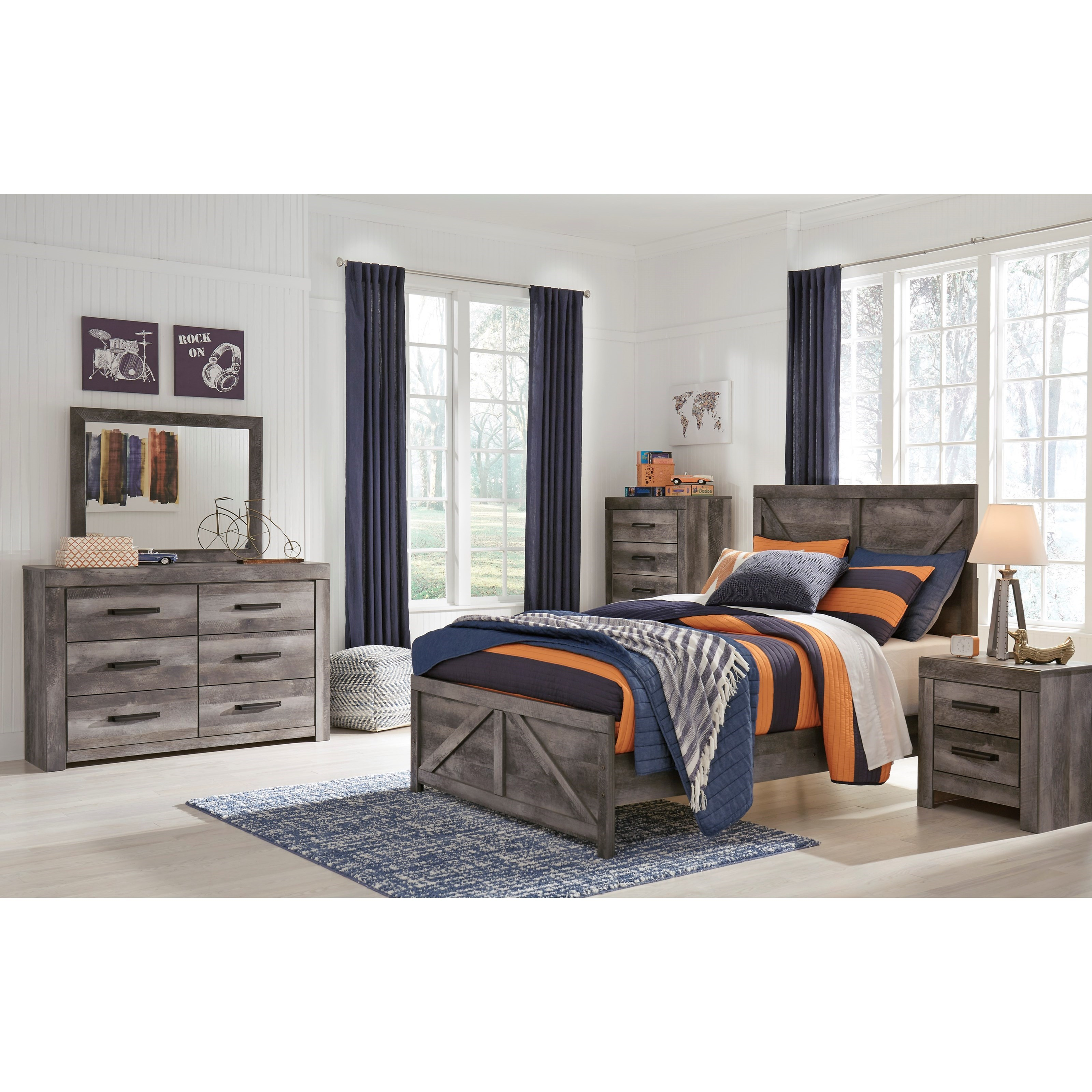Wynnlow Full Bedroom Group by Signature Design by Ashley at Catalog Outlet