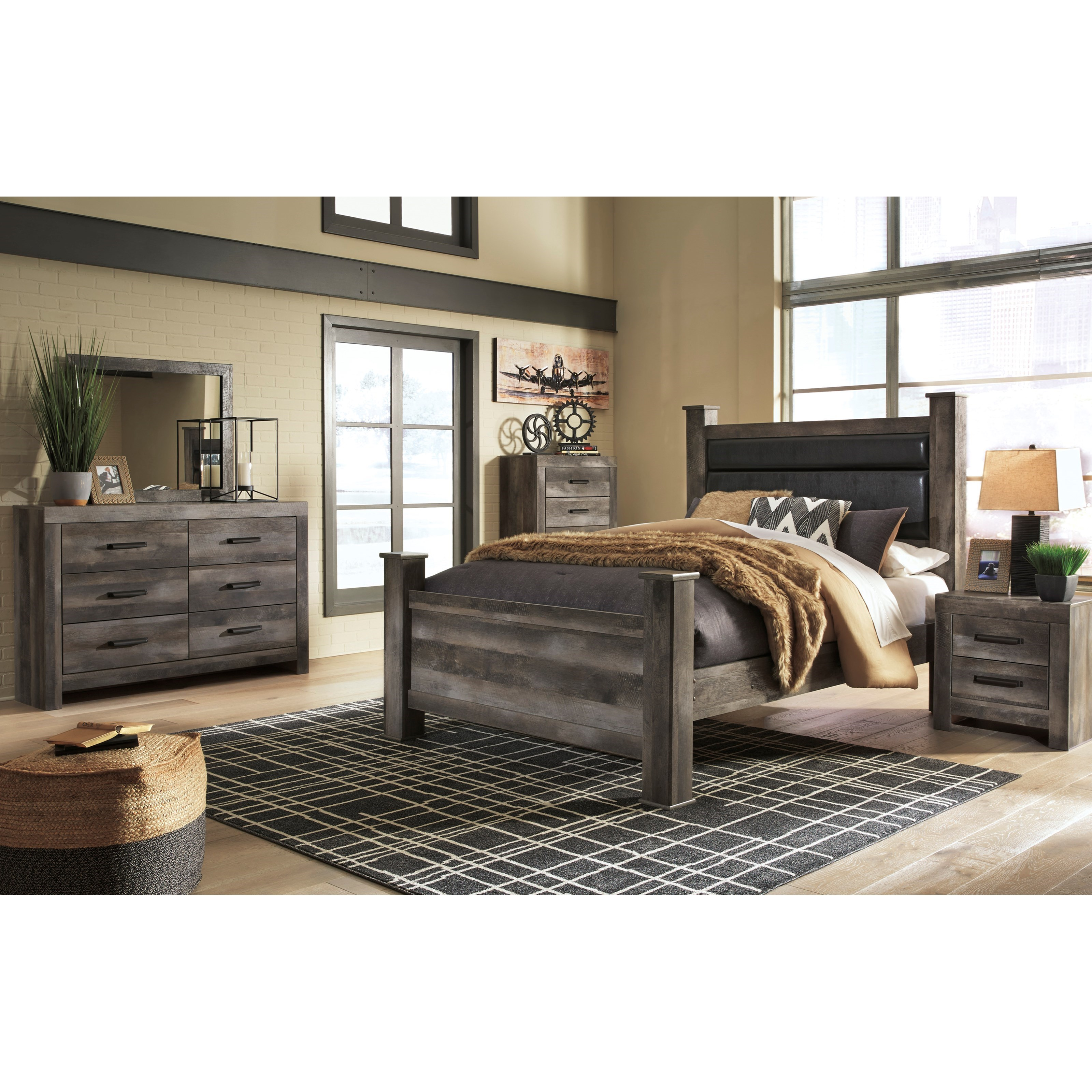 Wynnlow Queen Bedroom Group by Signature Design by Ashley at Northeast Factory Direct