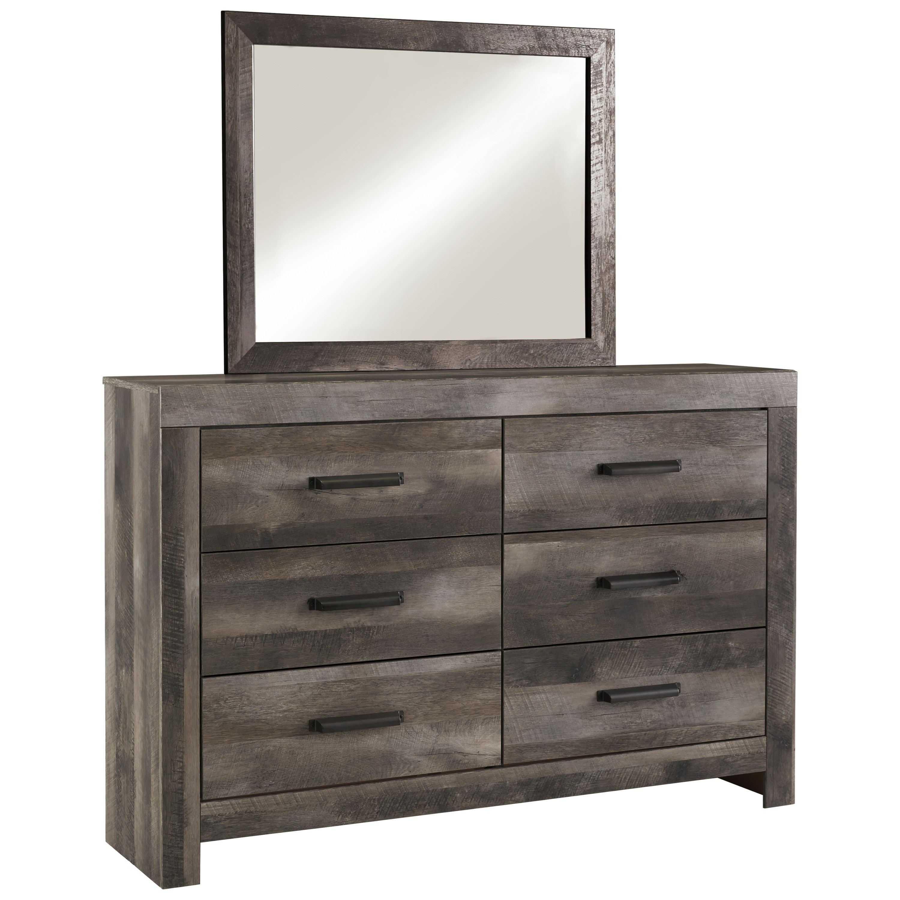 Wynnlow Dresser and Mirror Set by Signature Design by Ashley at Sparks HomeStore