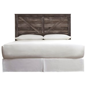 King Crossbuck Panel Headboard