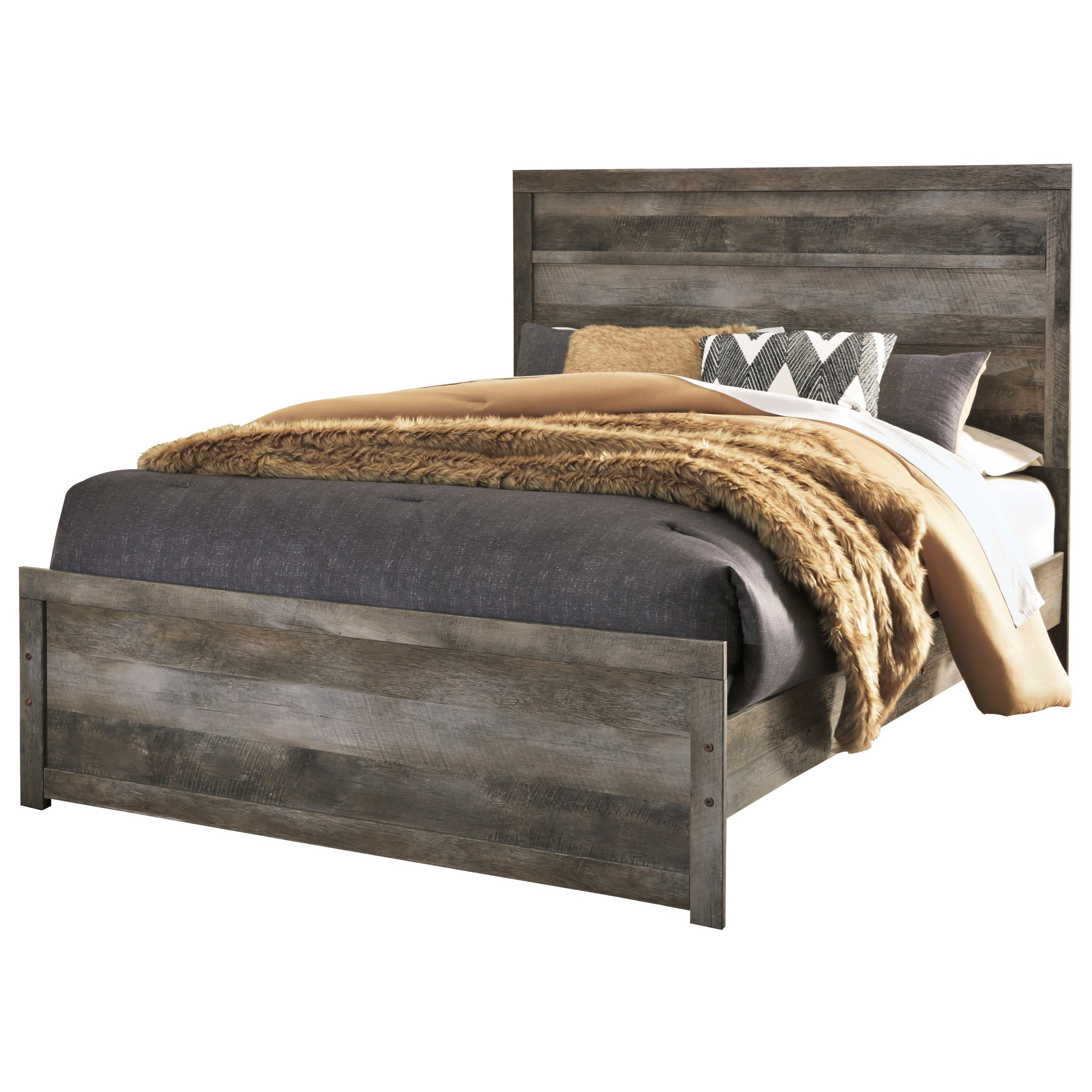 Wynnlow Queen Panel Bed by Signature Design by Ashley at Household Furniture