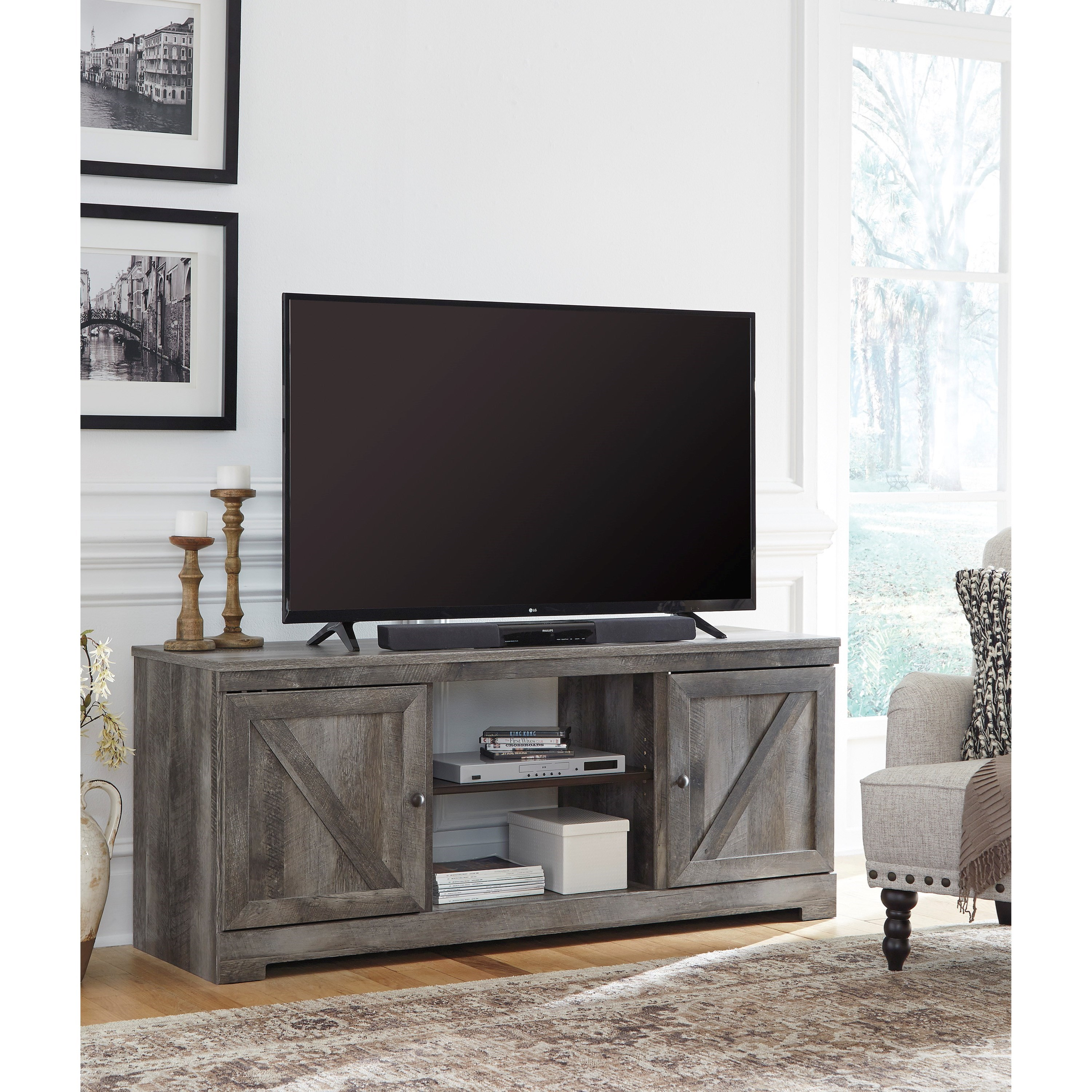 Wynnlow TV Stand by Signature Design by Ashley at HomeWorld Furniture