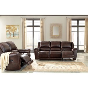 Signature Design by Ashley Yancy Reclining Living Room Group