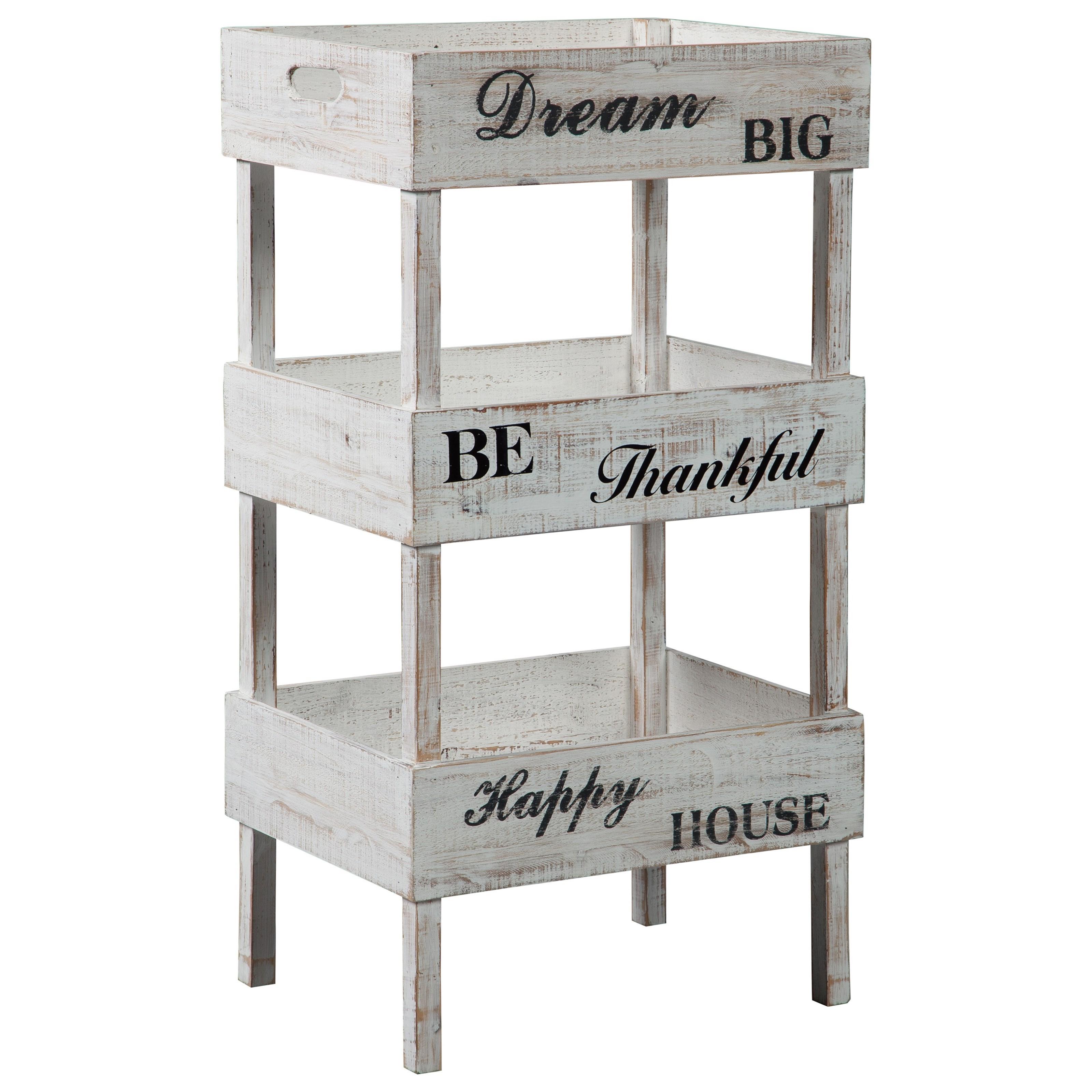 Yulton  Storage Shelf by Ashley (Signature Design) at Johnny Janosik