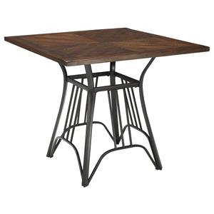 Signature Design by Ashley Zanilly Square Dining Room Counter Table