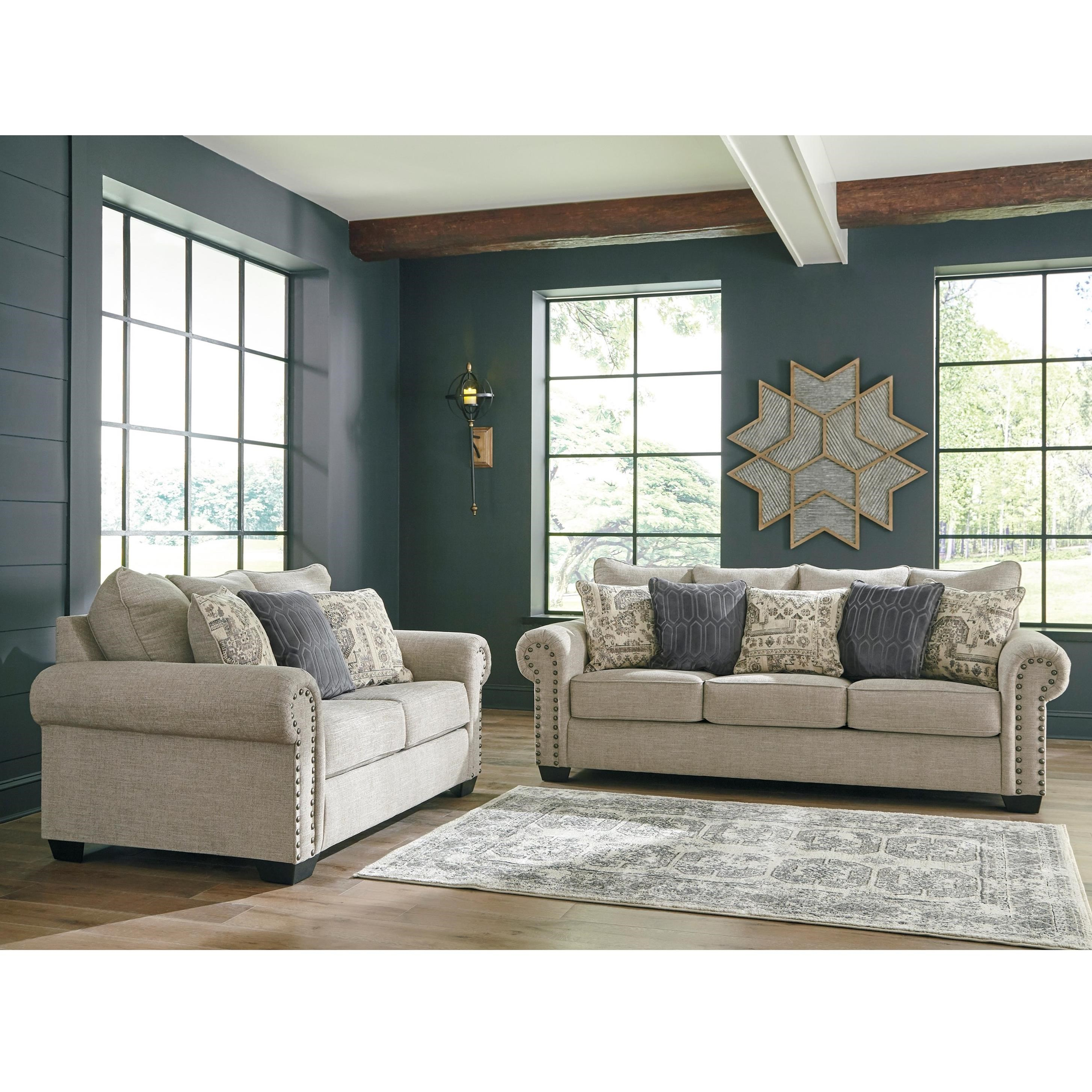 Zarina Stationary Living Room Group by Signature Design by Ashley at Factory Direct Furniture