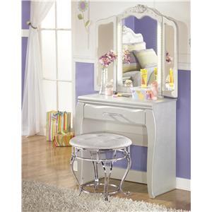 Signature Design by Ashley Zarollina Desk & Vanity Mirror