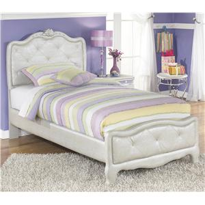 Signature Design by Ashley Zarollina Twin Upholstered Bed