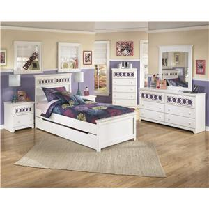 Signature Design by Ashley Furniture Zayley Twin Bedroom Group
