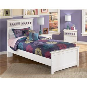 Twin Panel Bed with Customizable Color Panels