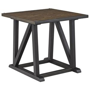 Signature Design by Ashley Zenfield Square End Table