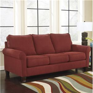 Signature Design by Ashley Zeth - Crimson Queen Sofa Sleeper