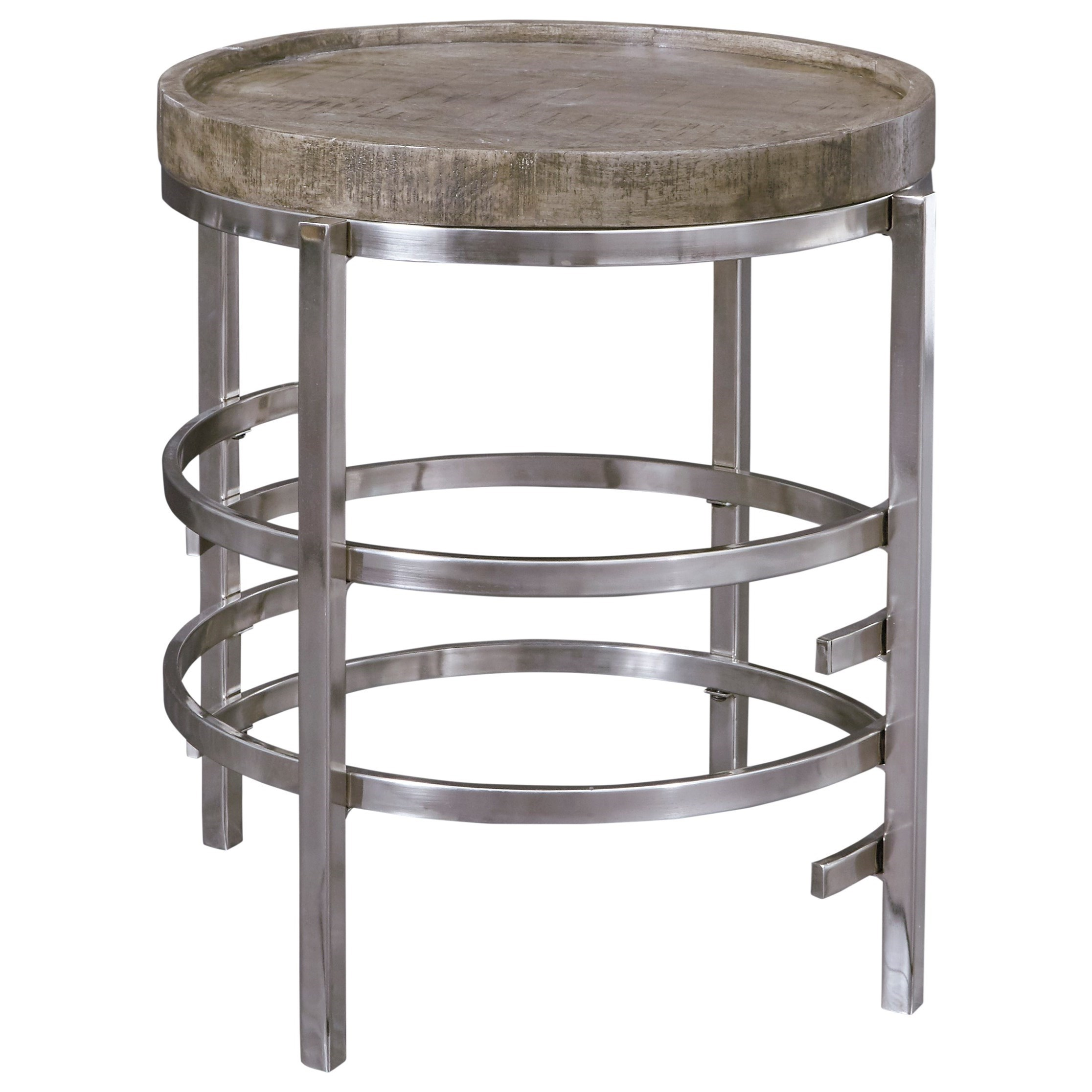 Zinelli Round End Table by Signature Design by Ashley at Houston's Yuma Furniture