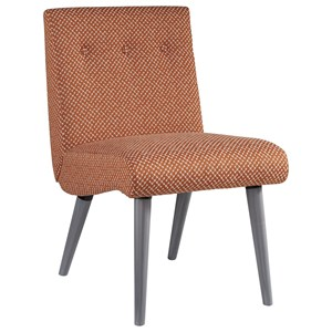 Mid-Century Modern Upholstered Accent Chair