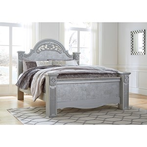 Glam King Poster Bed