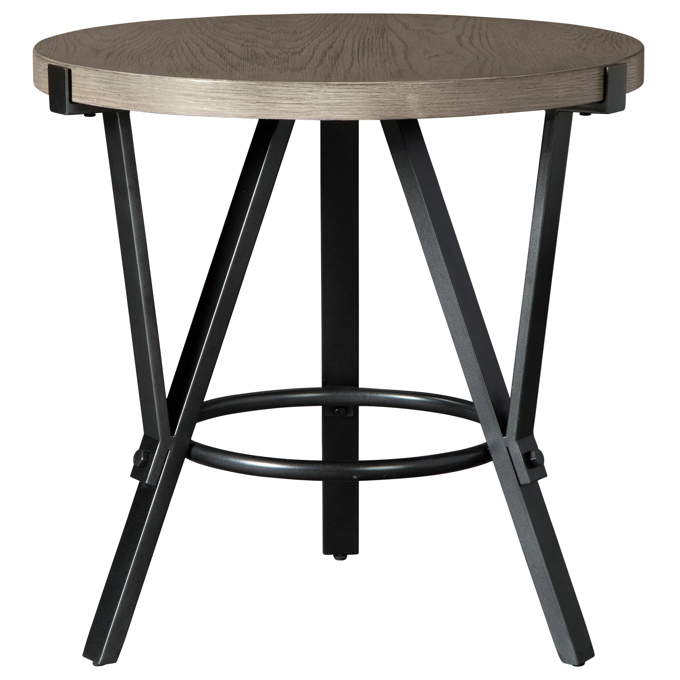 Zontini Round End Table by Signature Design by Ashley at Beck's Furniture