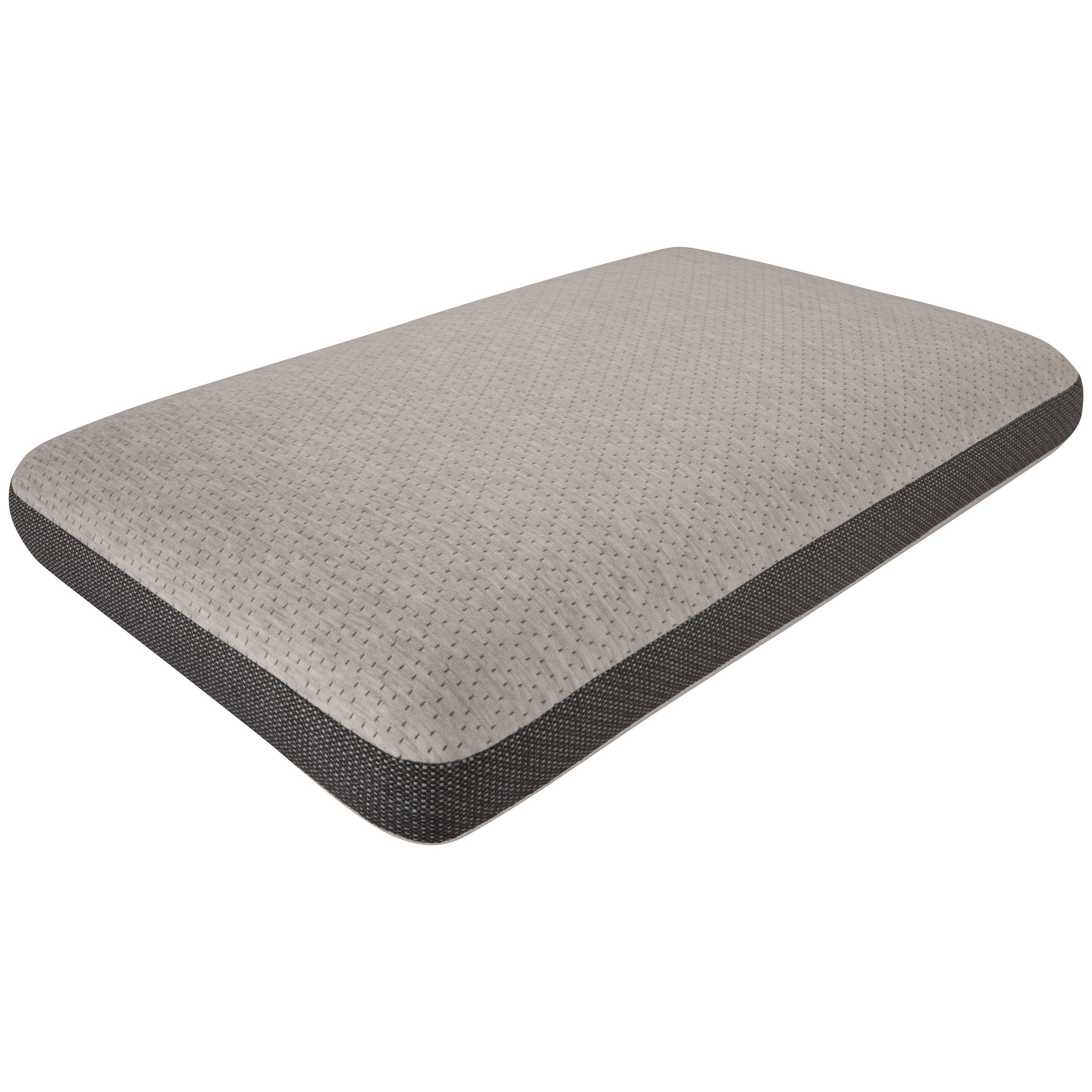 """Absolute Beauty Pillow 5"""" Profile All Position Memory Foam Pillow by Beautyrest at Becker Furniture"""