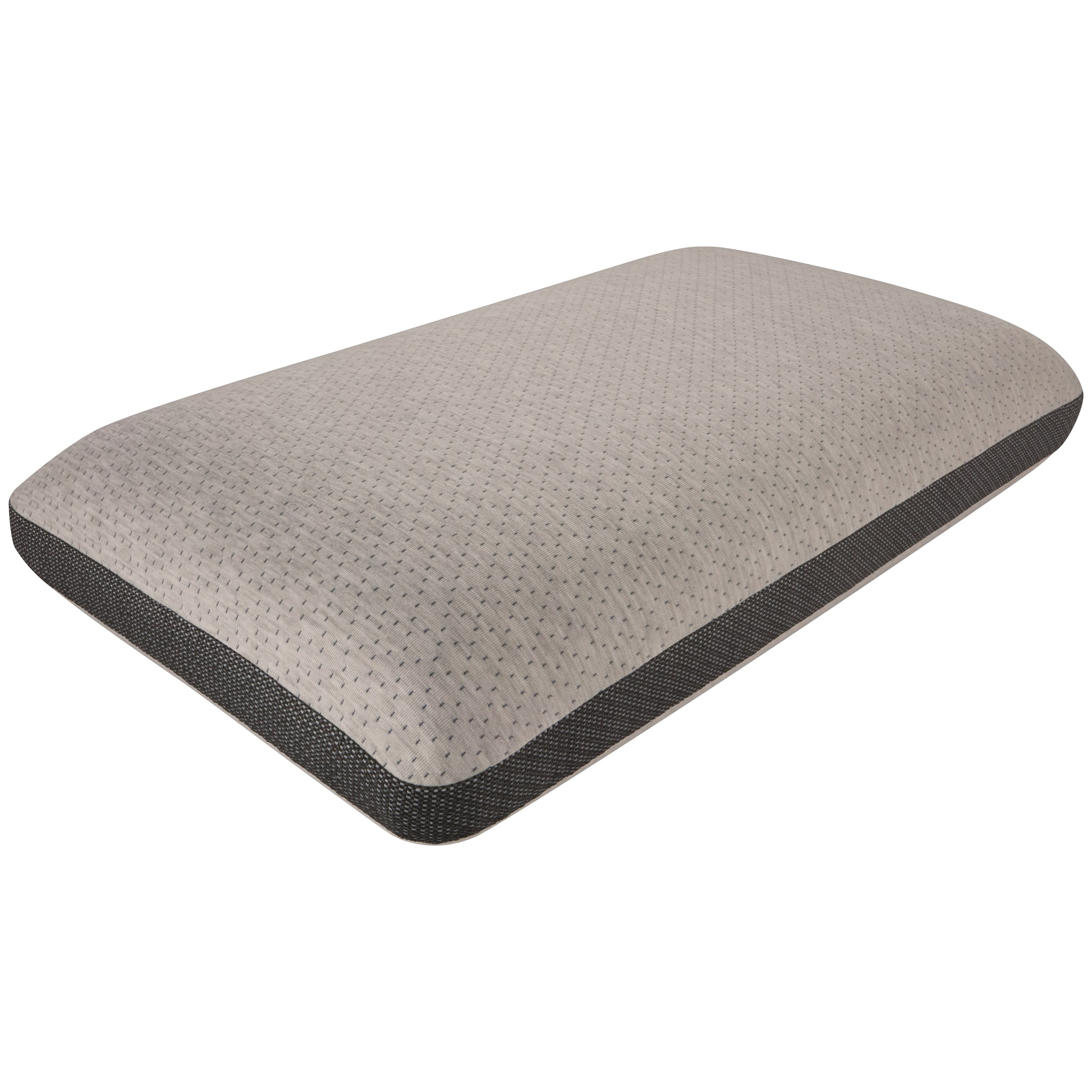 """Absolute Beauty Pillow 6"""" Profile All Position Memory Foam Pillow by Beautyrest at Becker Furniture"""