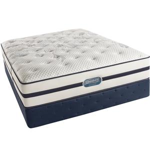 Simmons Beautyrest Recharge Ultra - Caroline  Cal King Extra Firm Mattress Set