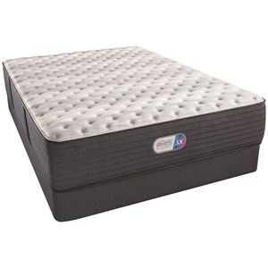 "Queen 14"" Extra Firm Coil on Coil Mattress and 9"" Foundation"