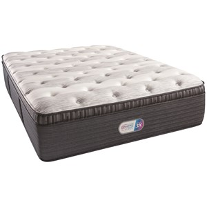 "Twin Extra Long 16"" Plush Pillow Top Coil on Coil Mattress and SmartMotion? 2.0 Adjustable Base"