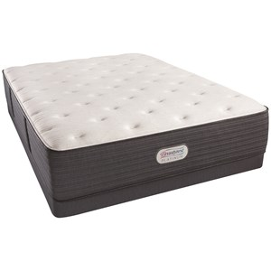 "Twin Extra Long 14"" Plush Platinum Mattress and Low Profile Triton Foundation"