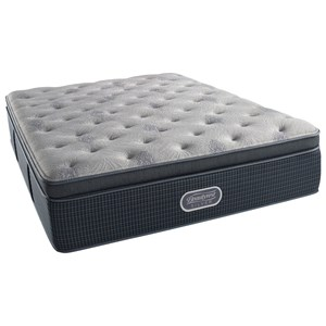 "Queen 15.5"" Plush Summit Pillow Top Pocketed Coil Mattress and SmartMotion™ 3.0 Adjustable Base"