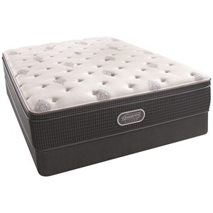 """Queen 14"""" Firm Euro Top Mattress and Triton Foundation"""