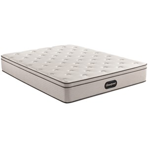 "Twin 12"" Plush Euro Top Pocketed Coil Mattress"