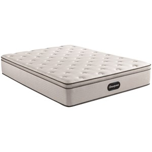 "Full 13 1/2"" Plush Pillow Top Pocketed Coil Mattress"