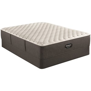 """King 13 3/4"""" Extra Firm Pocketed Coil Mattress and 9"""" Foundation"""