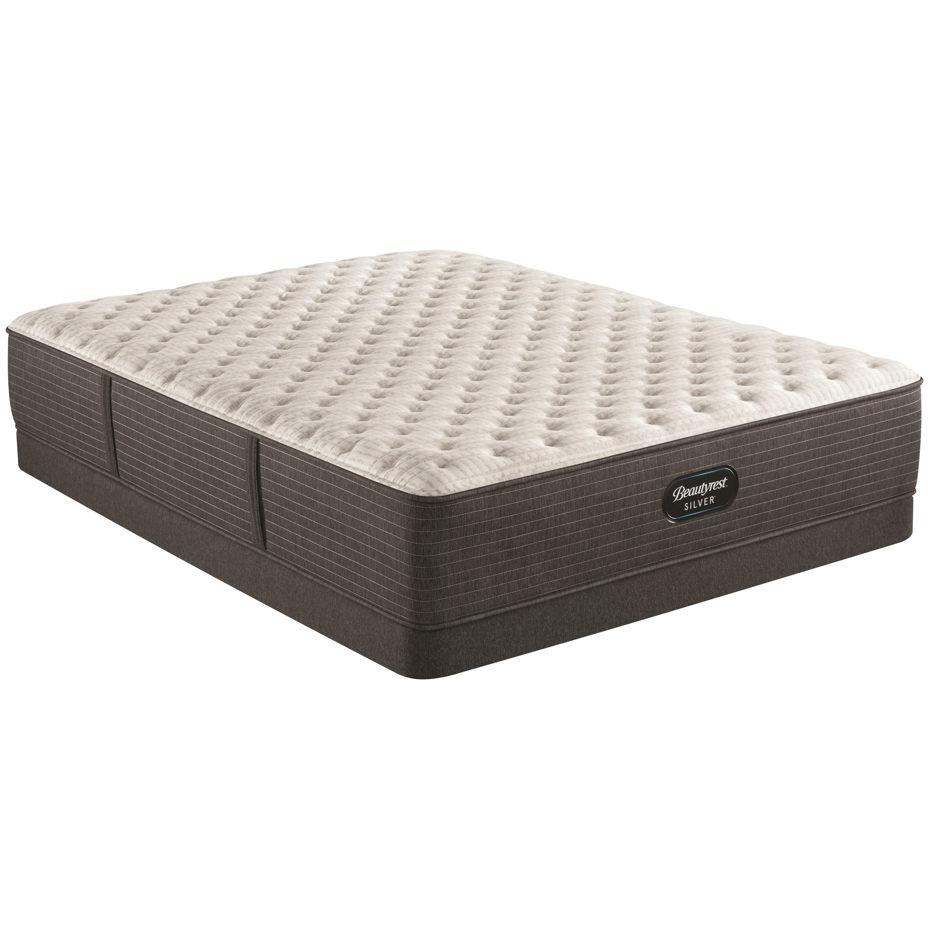 """BRS900-C Extra Firm Twin XL 13 3/4"""" Pocketed Coil Low Pro Set by Beautyrest at HomeWorld Furniture"""